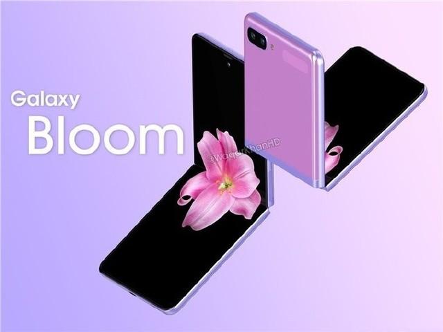 三星新款折叠屏手机曝光 采用上下折叠的样式