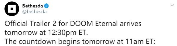 《毁灭战士:永恒》新宣传片明日发布 太空场景引遐想