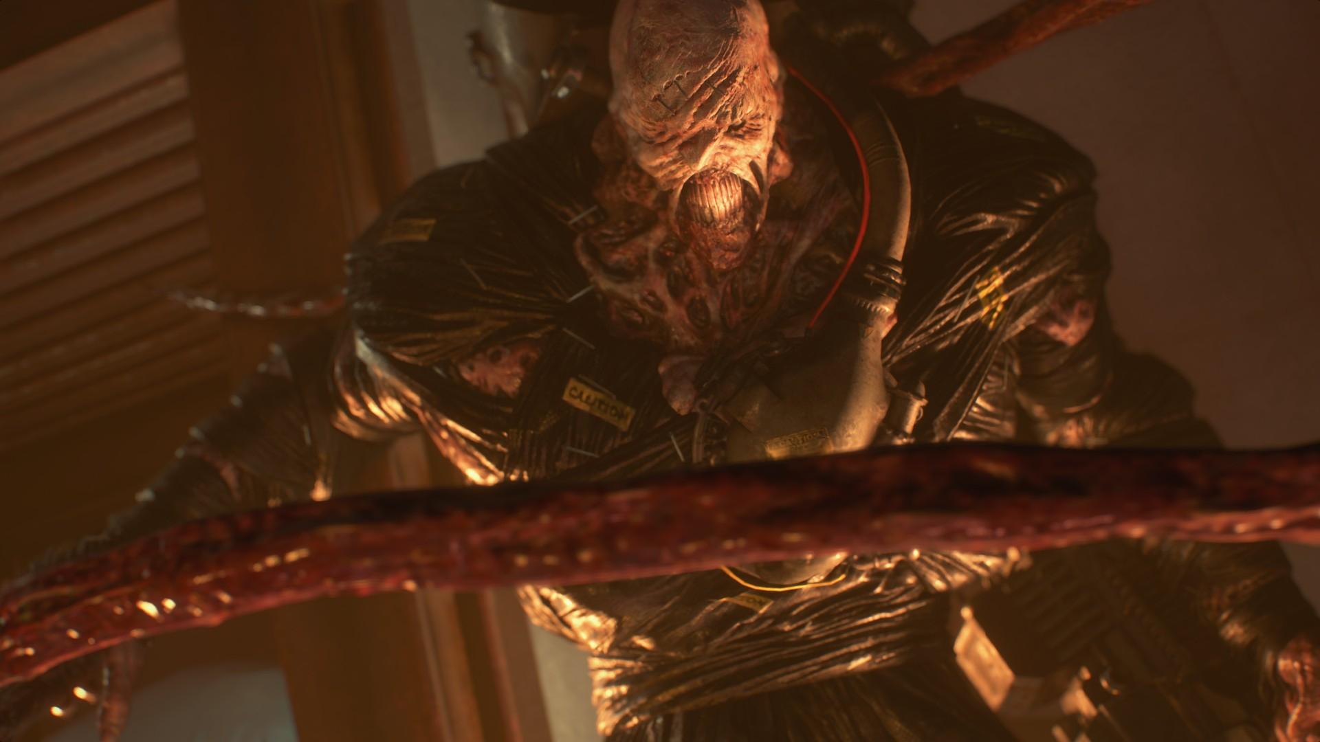 《生化危机3:重制版》新预告截图 追踪者火箭筒大战吉尔