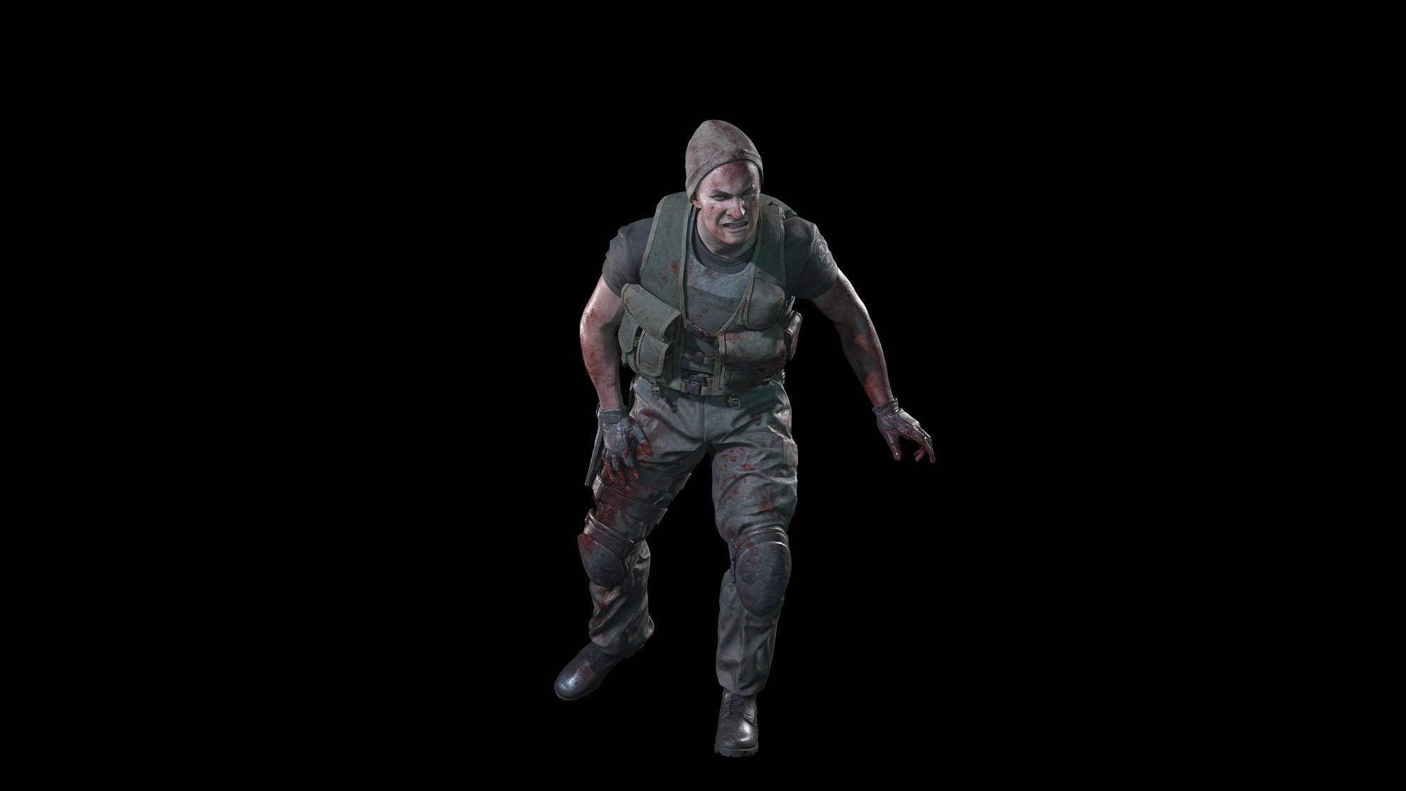 《生化危机3:重制版》新截图 追踪者火箭筒大战吉尔