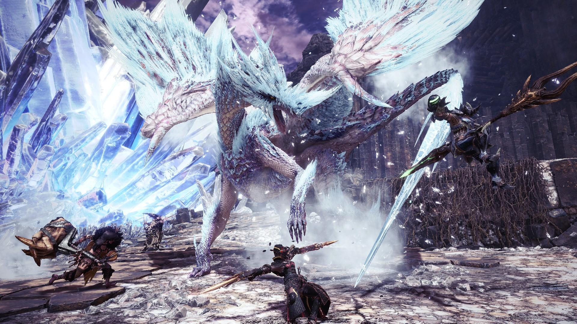 《怪猎世界:冰原》全球出货量突破400万 系列总销量达6100万