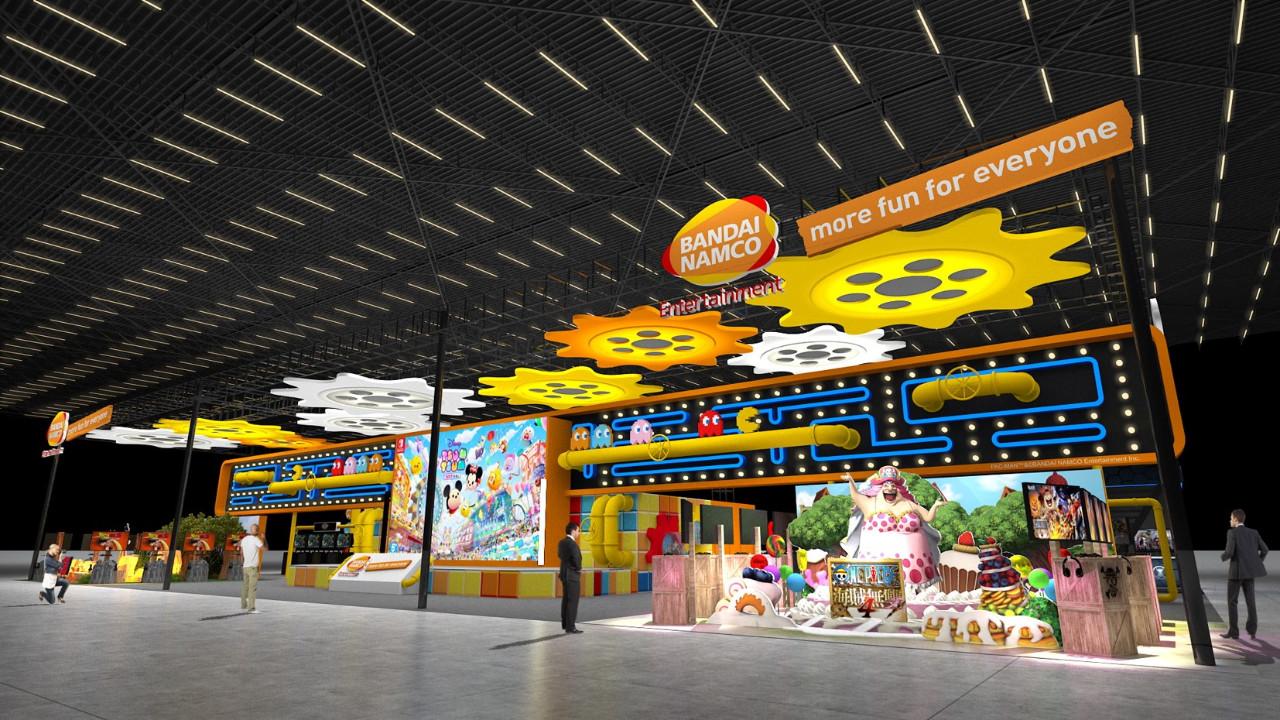 万代台北电玩展展台公布 有3个神秘新作展台