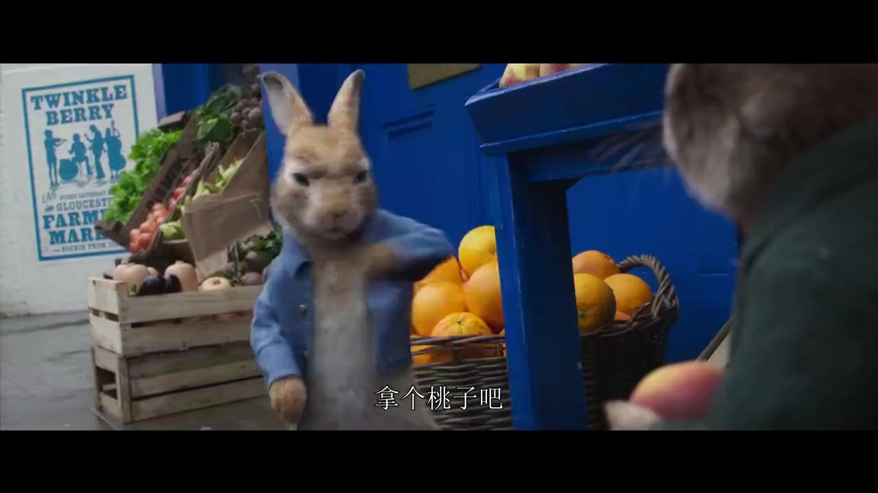喜剧冒险动画《比得兔2:逃跑计划》发布中字新预告