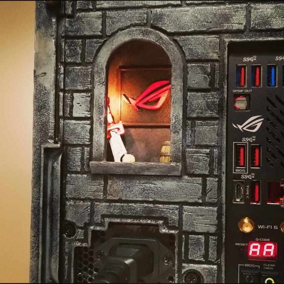 玩家打造魔兽主题Mod电脑主机 细节完美超细致