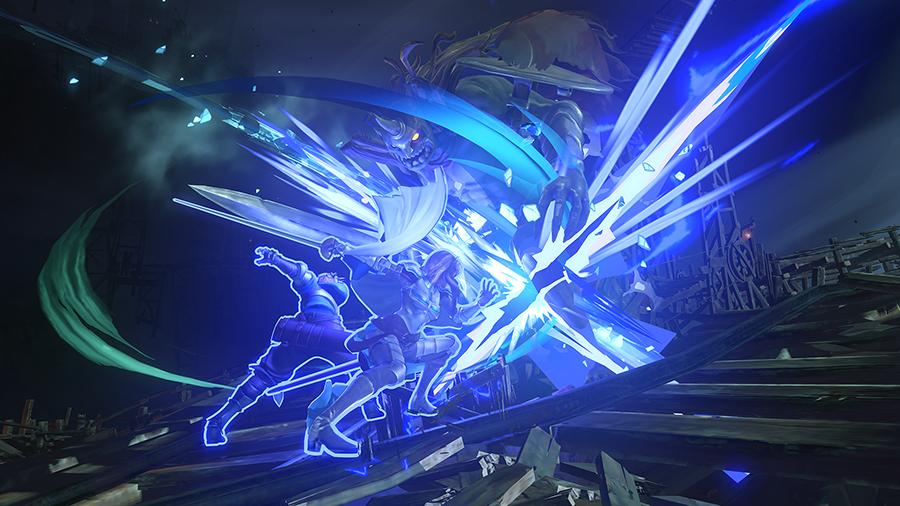 《碧蓝幻想:RELINK》新演示:四猛汉狂锤怪物!