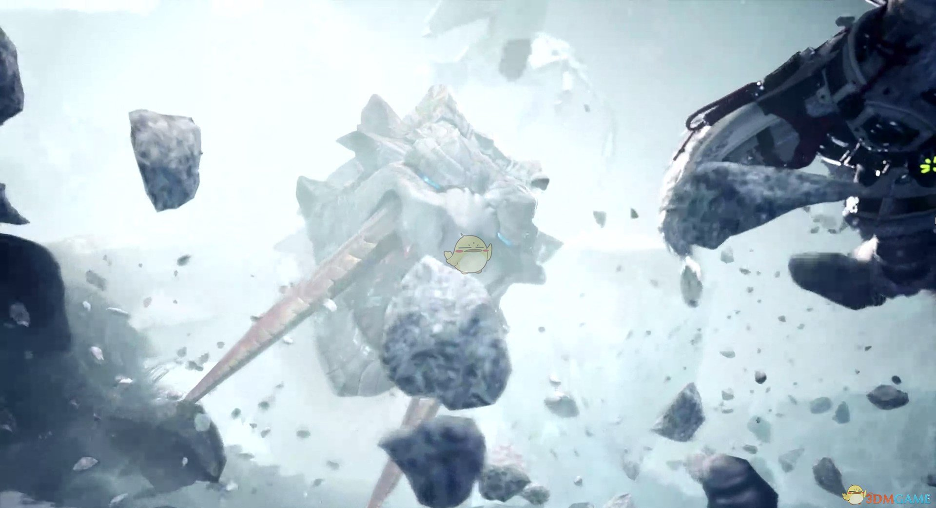 《怪物猎人:世界》冰原DLC重弩新增零件超级会心镜效果介绍