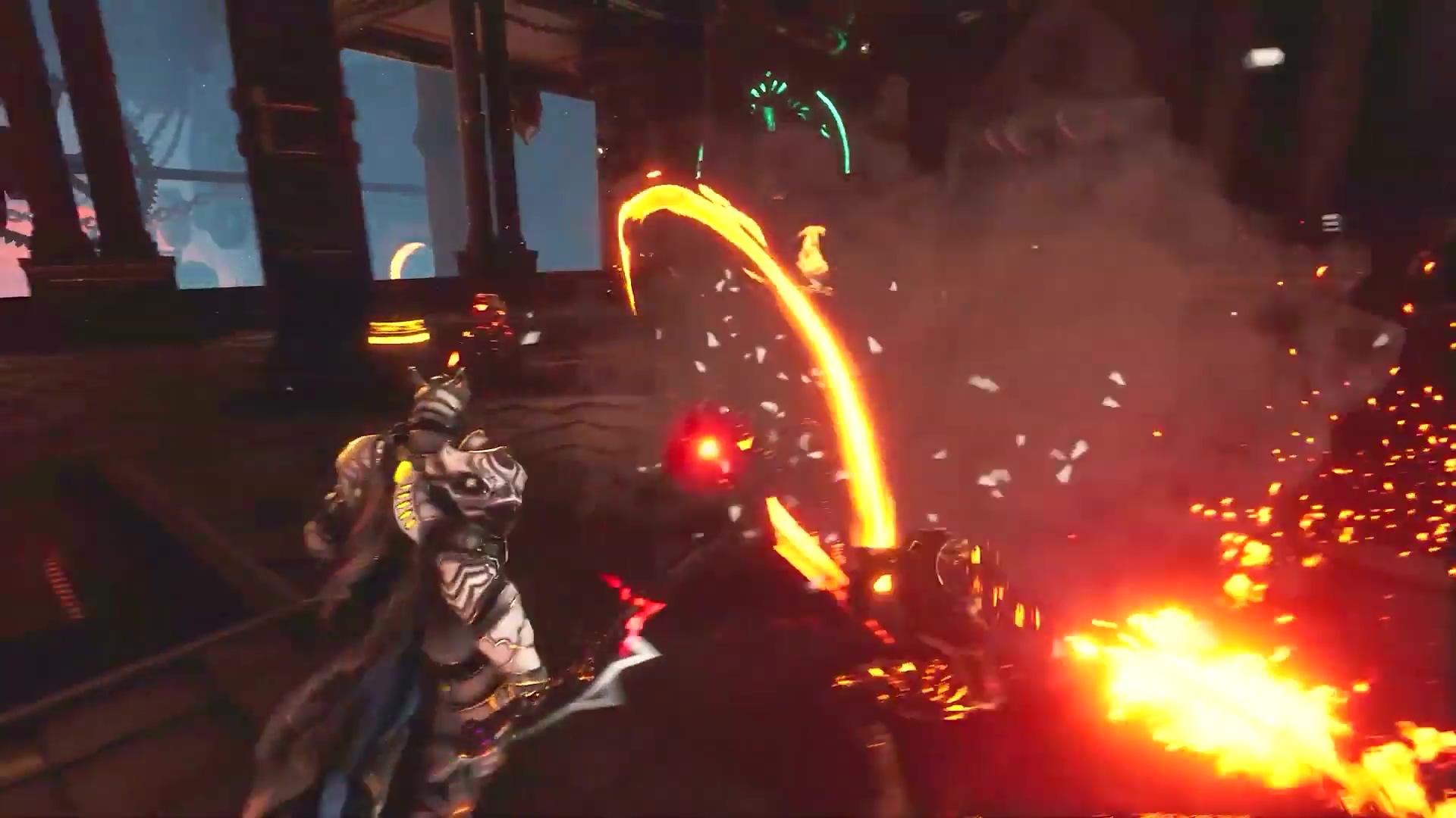 PS5首发游戏之一《众神陨落》新演示 粒子效果惊人