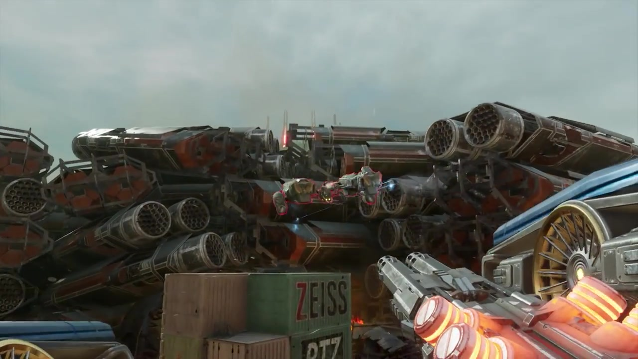 科幻射击游戏《崩解》Beta测试预告片公布