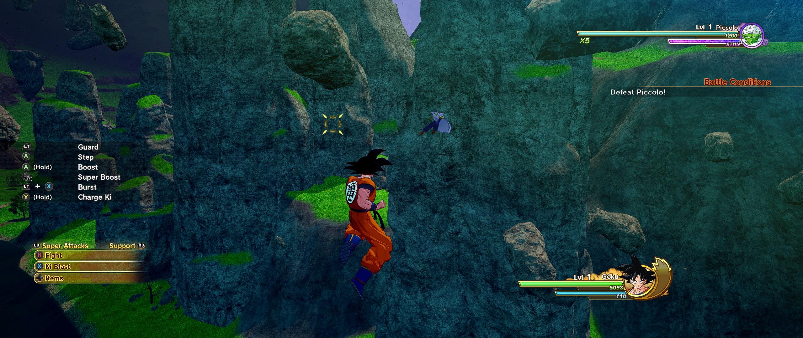 《龙珠Z:卡卡罗特》首个Mod 解决超宽屏黑边