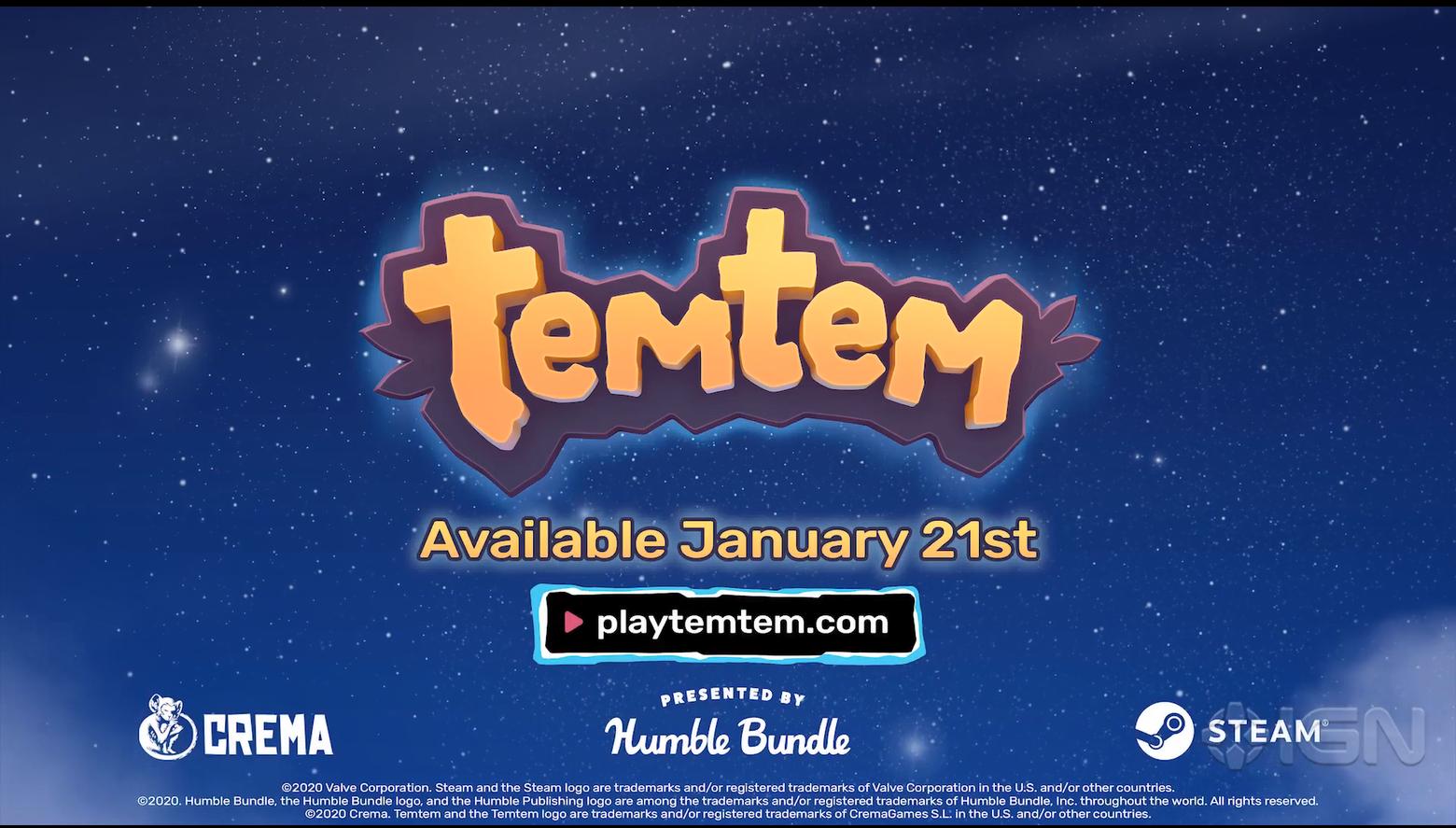 类宝可梦MMO《Temtem》发售预告片 解锁时间公布