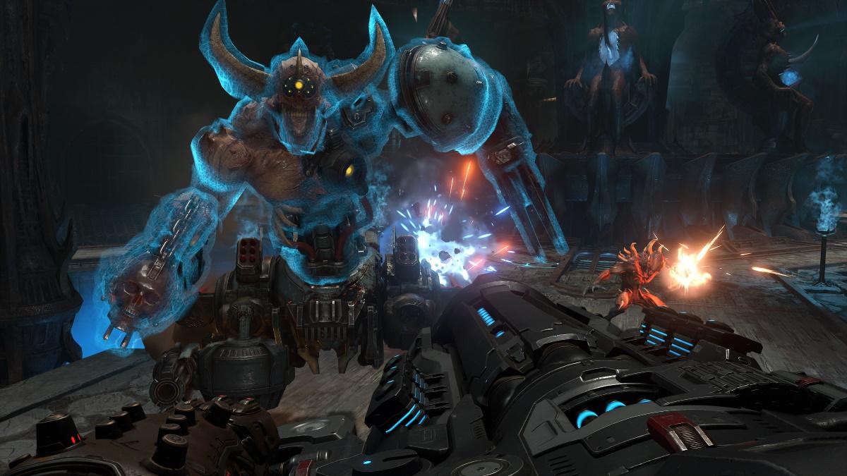 《毁灭战士:永恒》想用平台跳跃谜题调整游戏节奏