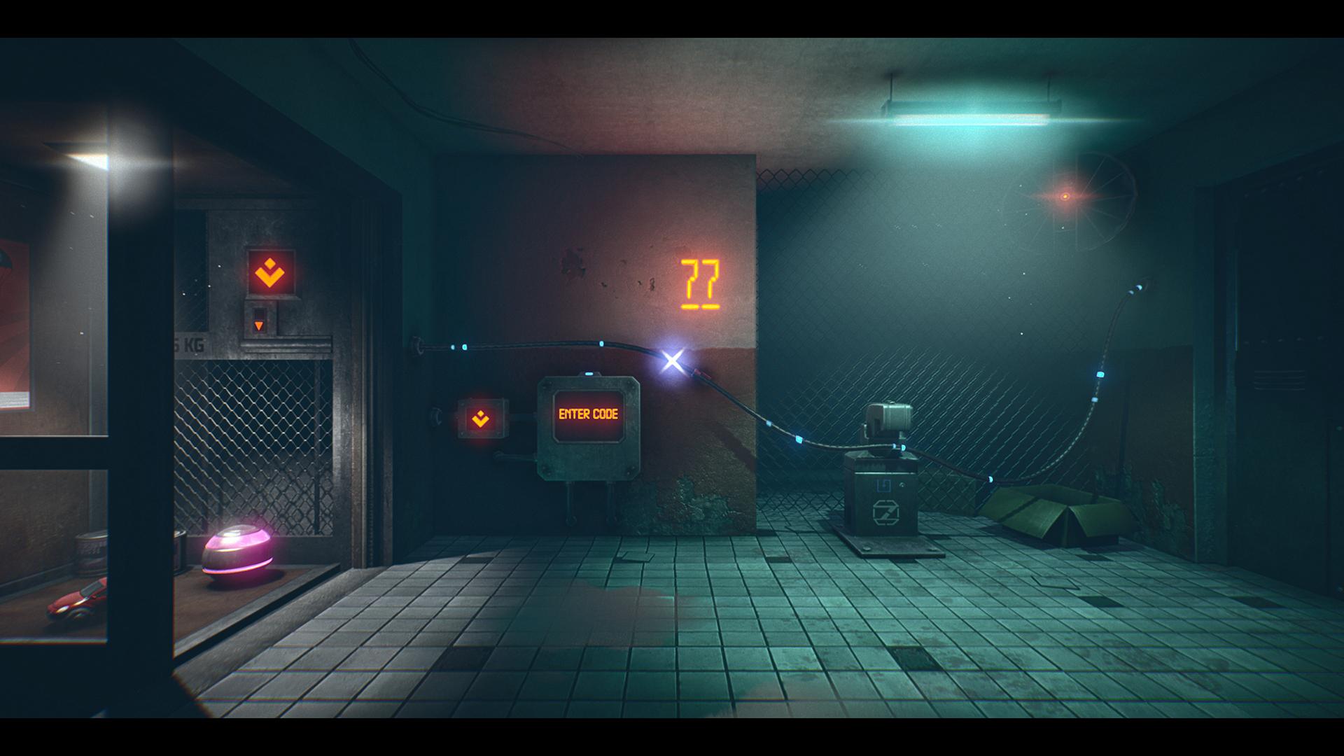 赛博朋克解谜游戏《第七区》宣布登陆PS4/XB1/Switch