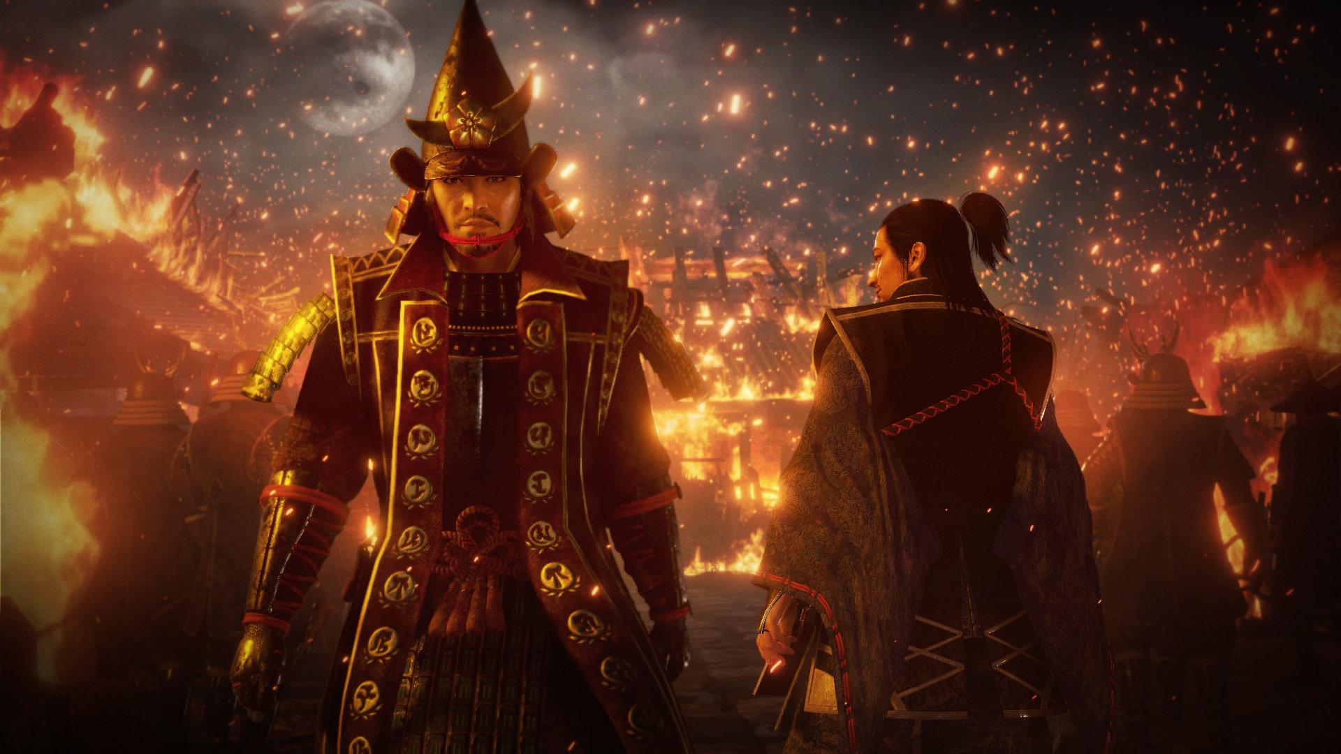 《仁王2》大量新截图发布 战国第一美女来了