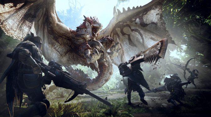 《怪物猎人:世界》Steam今日更新 进一步优化游戏