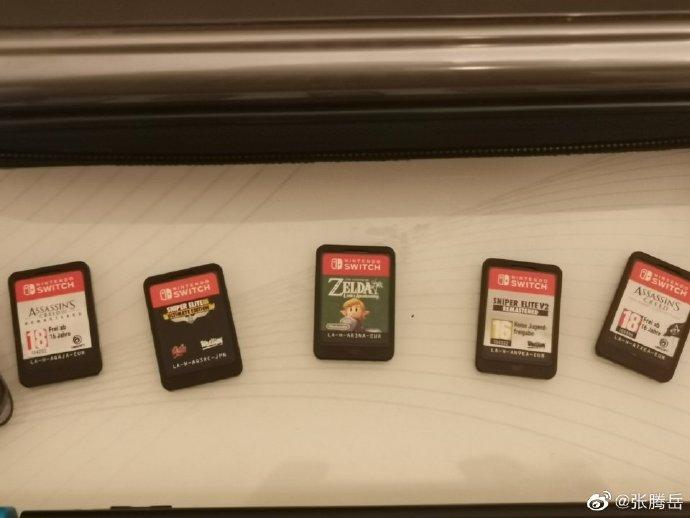 张腾岳晒Switch版《巫师3》游戏画面 其他大作也不少