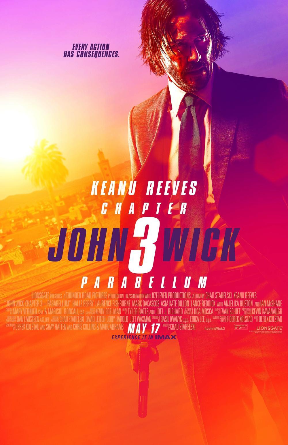 《疾速追杀3》电影将于1月30日在爱奇艺播出