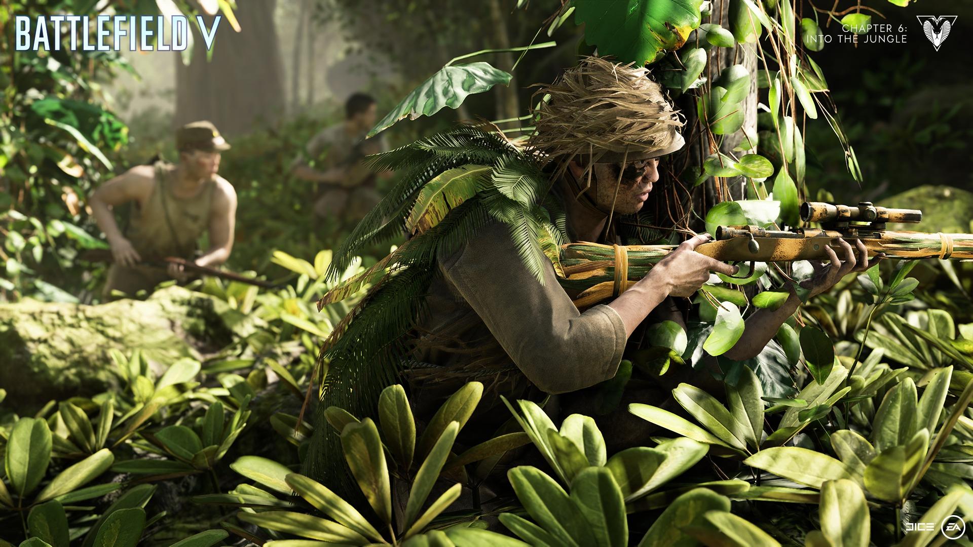 《战地5》第六章游戏截图放出 首个预告今晚十点播出