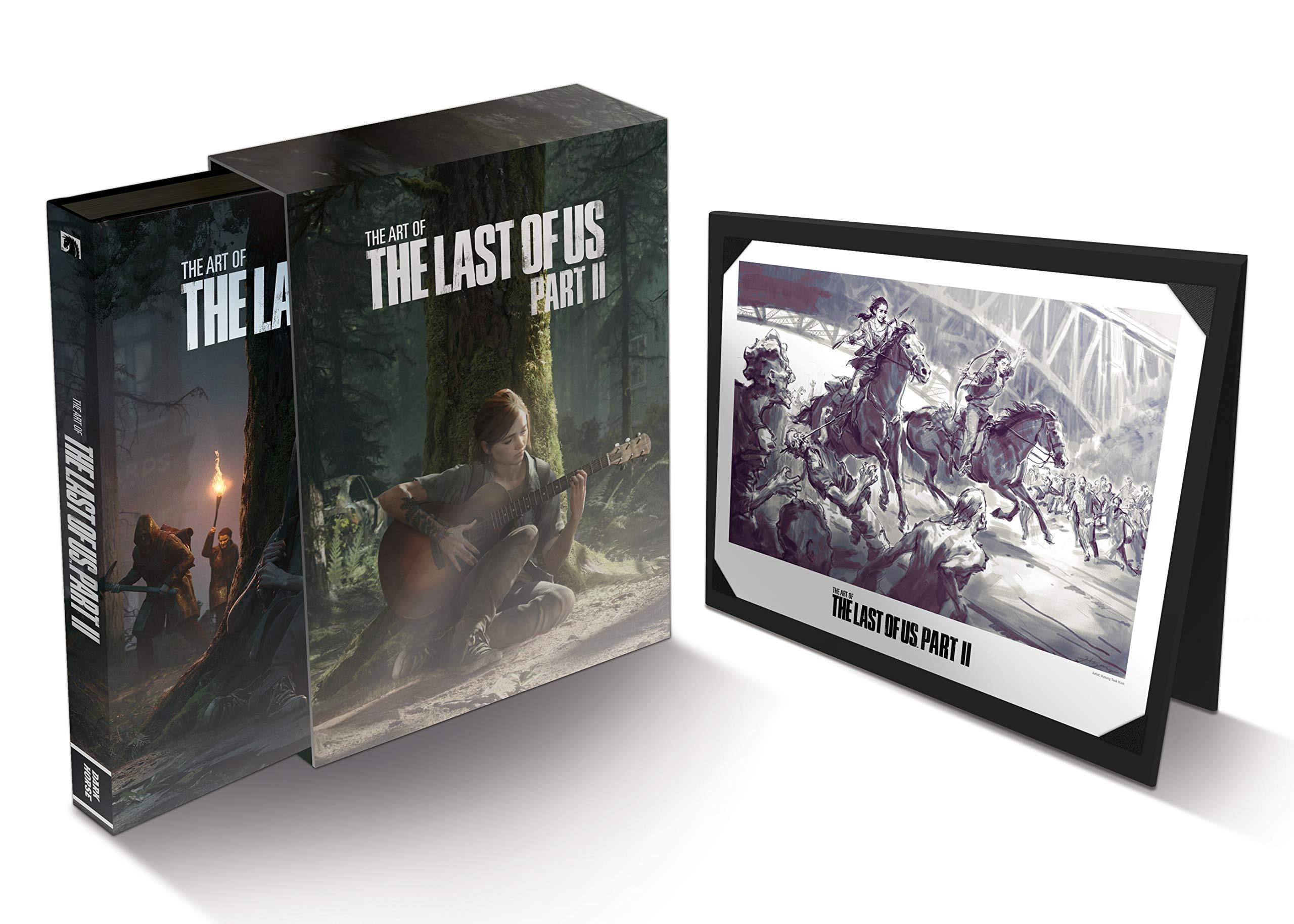 亞馬遜《最后的生還者2》設定集展示全新藝術圖