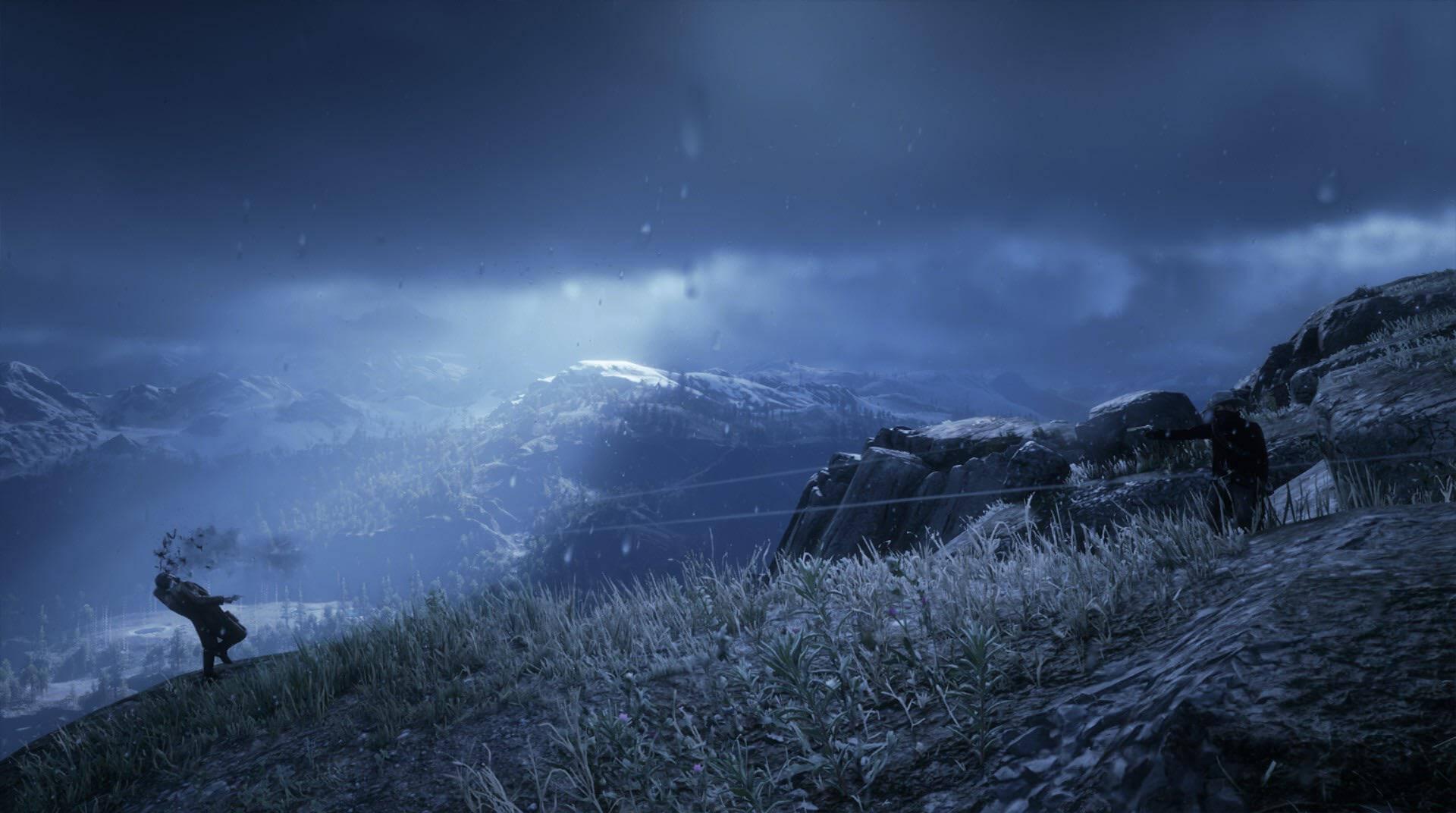 玩家在《荒野大镖客2》中每天杀死一名警长组成相册