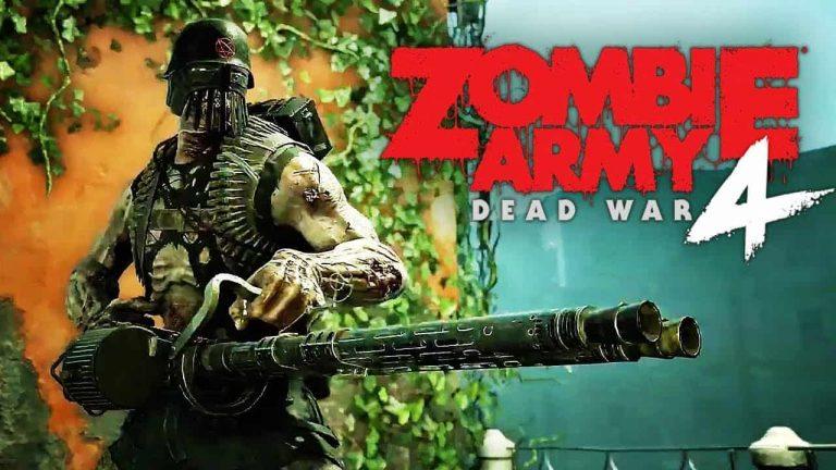 《僵尸部队4》公布售后追加内容计划