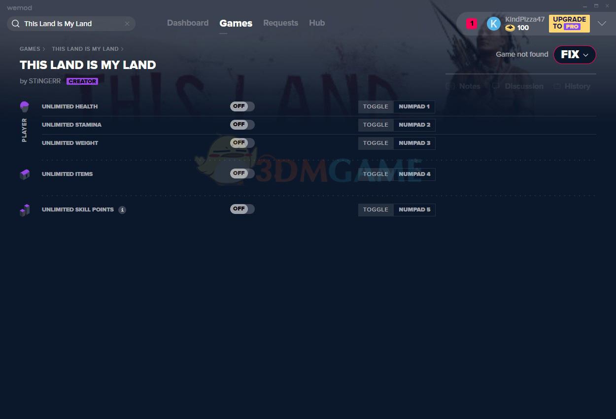 《这是我的土地》v2020.09.05五项修改器[MrAntiFun]