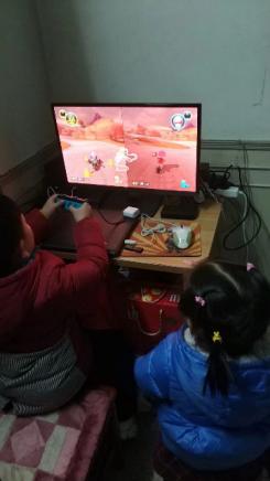 过年期间,你和父母们一起玩过游戏吗?
