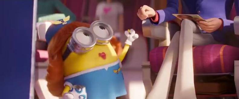 《小黄人大眼萌2》超级碗发布首个预告:魔性依旧!