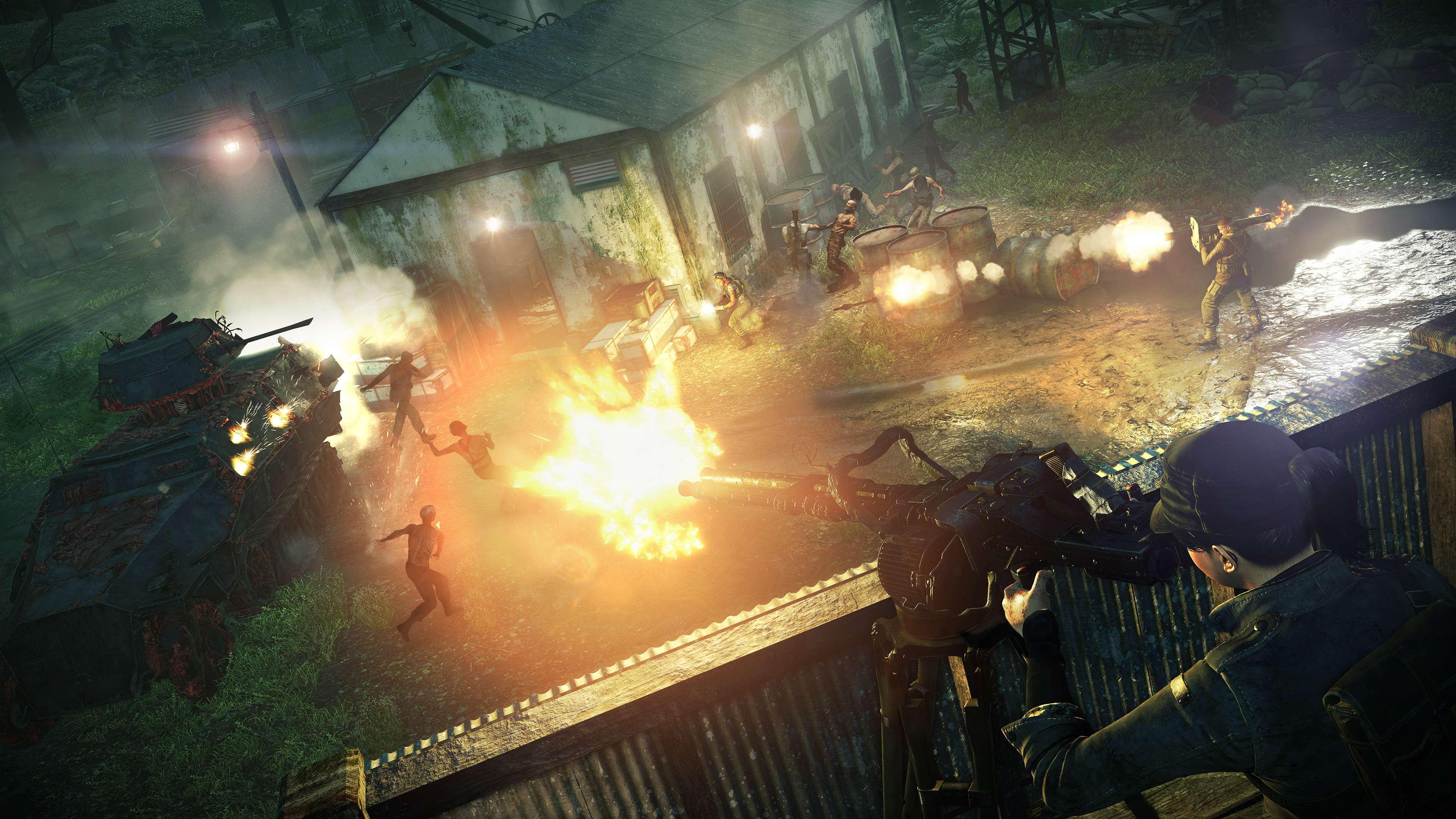PS4 / XB1《僵尸部队4:死亡战争》本日发售正式解放第一季追加内容