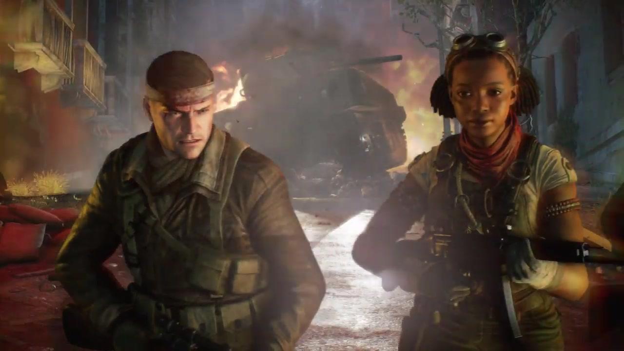 《僵尸部队4:死亡战争》上市预告片公布