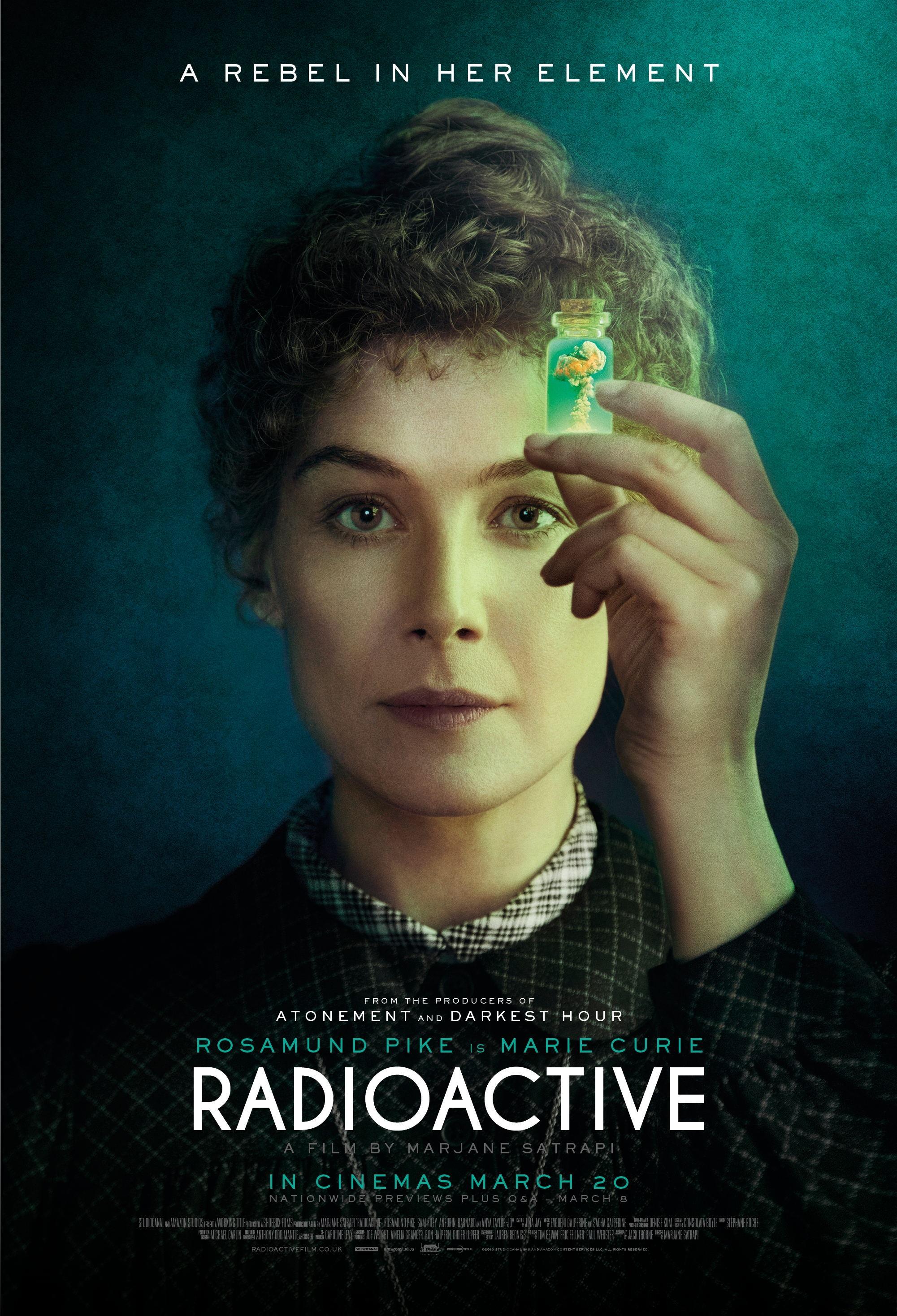 居里夫人传记电影《放射性物质》发布正式预告 裴淳华主演