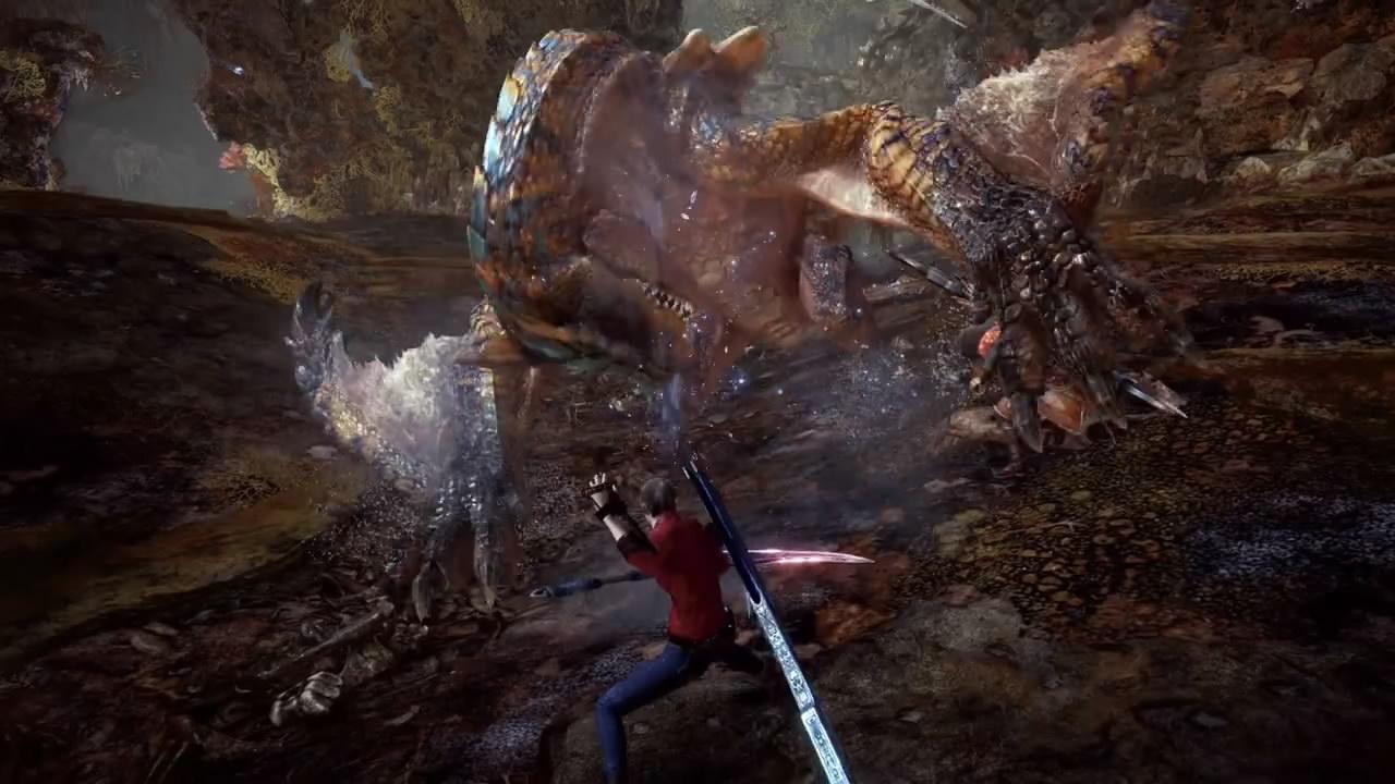 《怪猎世界:冰原》Steam大型更新发布 生化危机上线