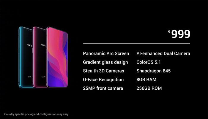 OPPO将在两周内发布Find X2 可能具有120Hz OLED屏幕