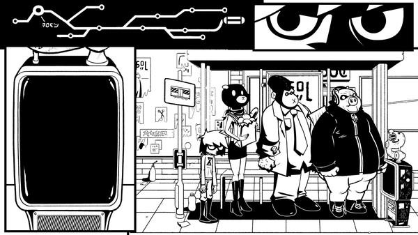 黑白漫画风!冒险新游《打破第四面墙》上架Steam