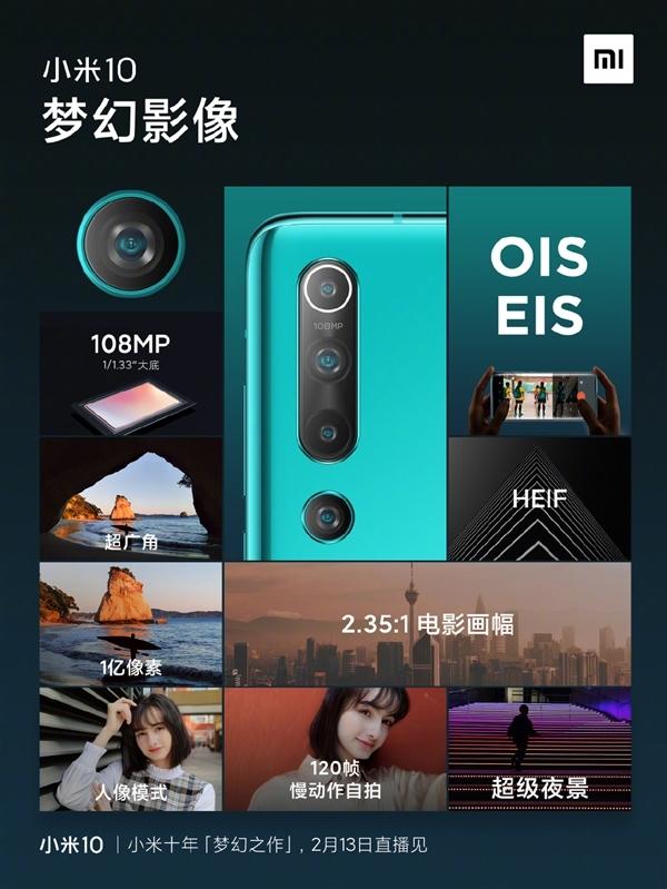 小米手机宣布再战DxO 小米10Pro一亿像素能否屠榜
