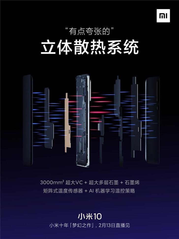 """雷军评价小米10:""""梦幻性能"""" 十年集大成之作"""