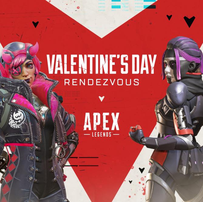 《Apex英雄》情人节活动上线 双排模式限时回归