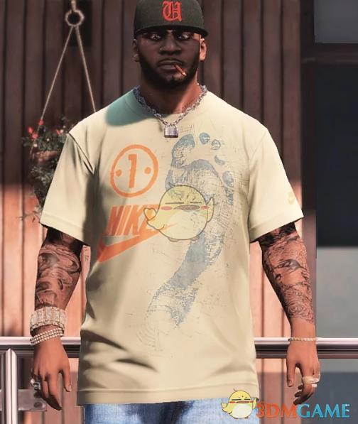 《侠盗猎车5》耐克短袖打包MOD