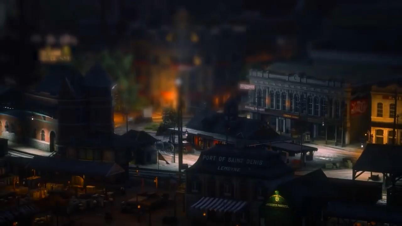 《荒野大镖客2》微缩景观摄影 迷你风景也迷人