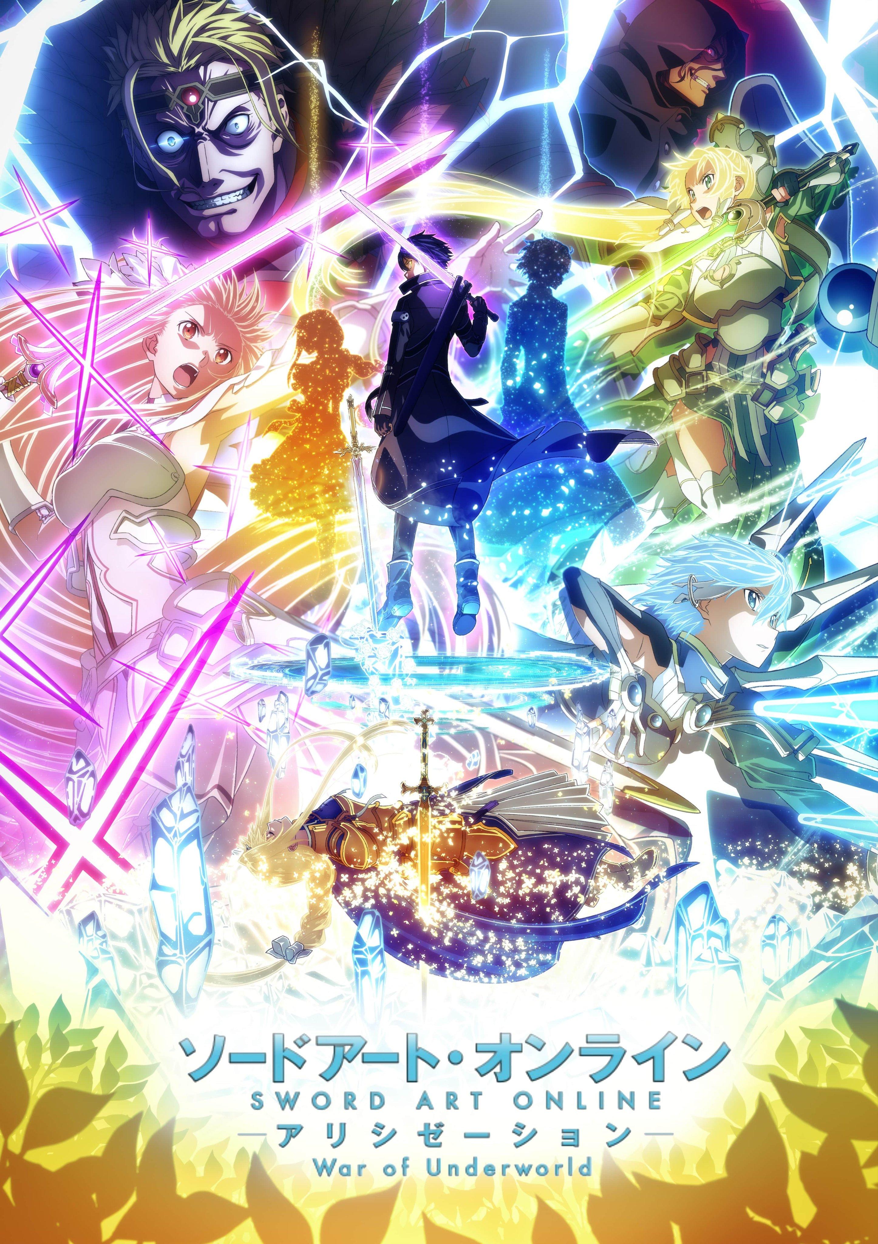 TV动画《刀剑神域 Alicization》最终章预告 4月正式开播