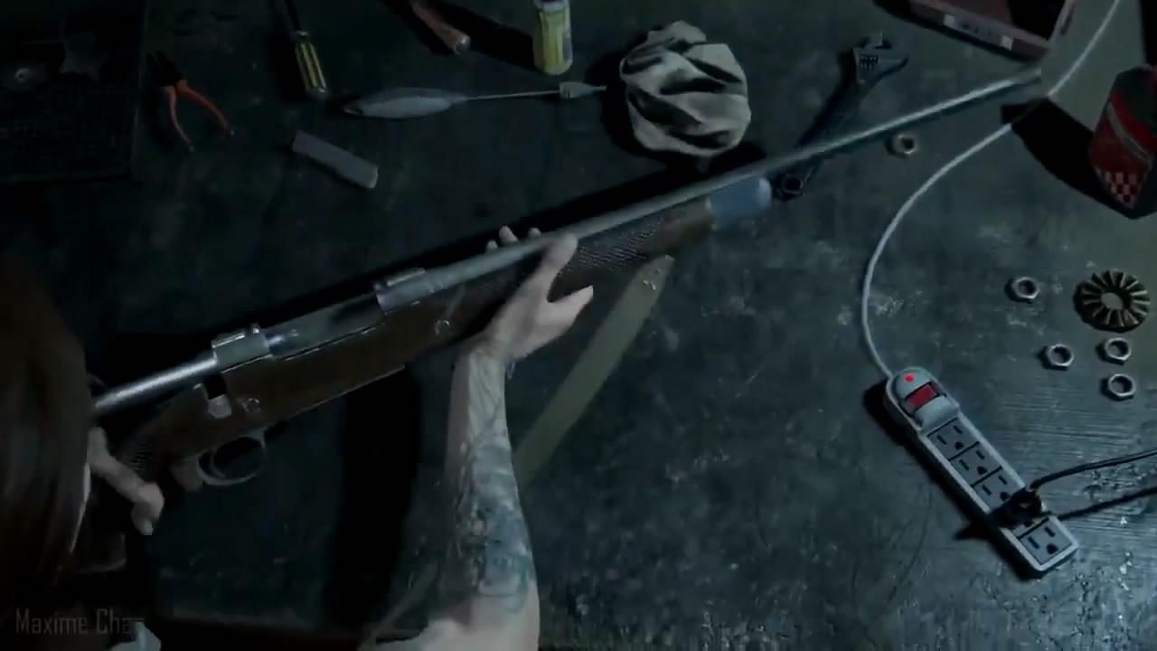 《最后的生还者2》短视频公布 枪械改装系统曝光