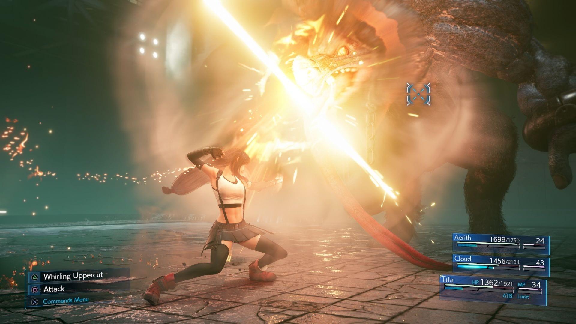 《最終幻想7:重制版》新截圖展示蒂法招式/支線任務