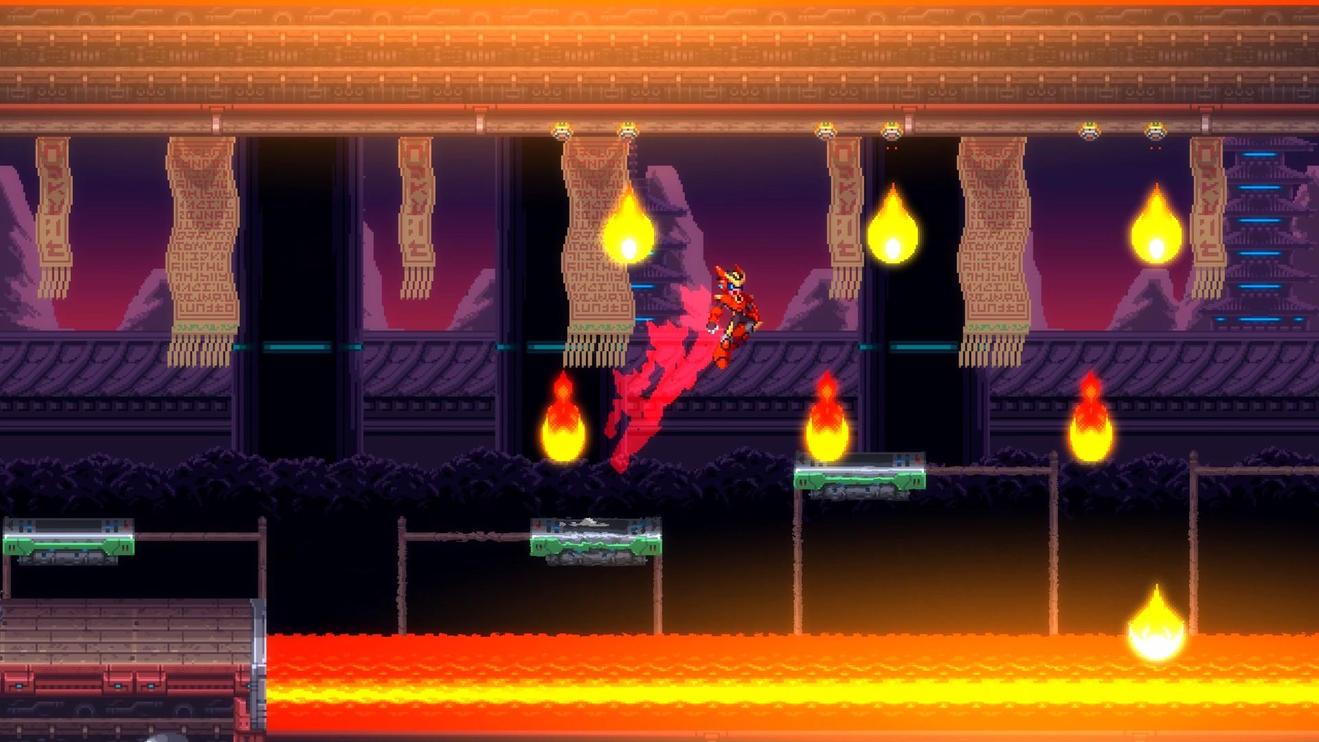 動作游戲《30XX》上架Steam  支持遠程同樂功能