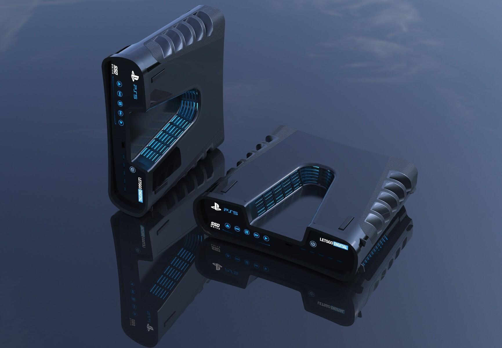 索尼日本官网曝光PS5图标 PS5正式外观真是深V造型?