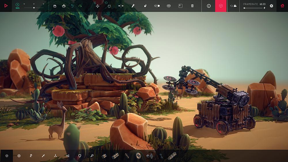 物理学游戏《围攻》将结束EA  加入全新自动化零件!