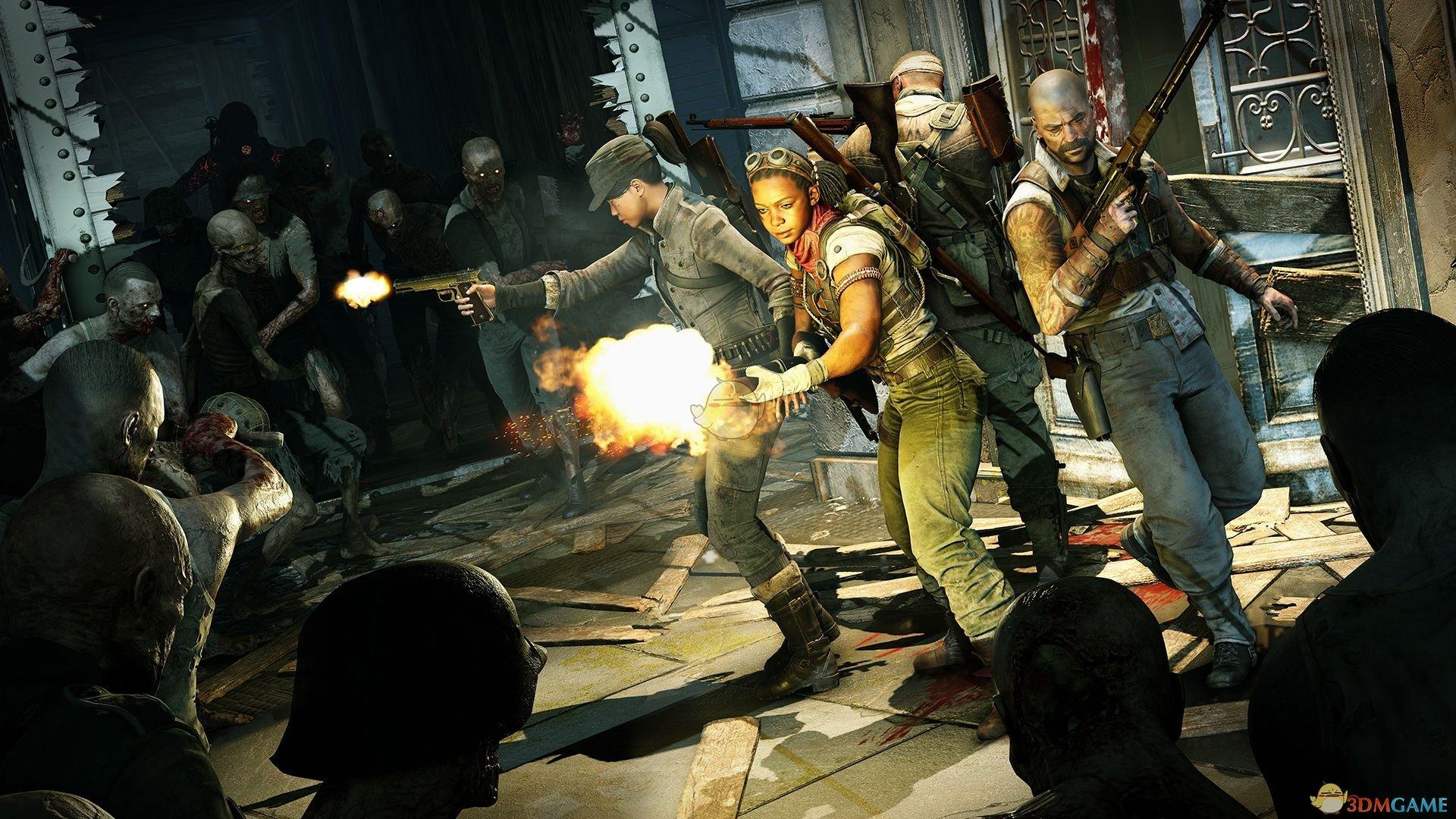《僵尸部队4:亡灵大战》游戏体验分享