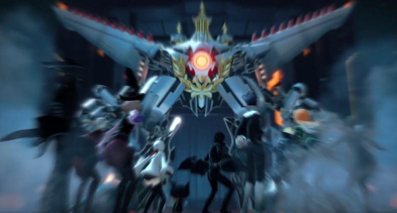《女神异闻录5S》第三弹宣传片:主角团对抗高达!