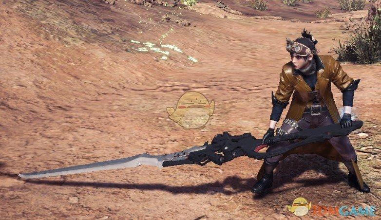 《怪物猎人:世界》尼尔40式太刀MOD