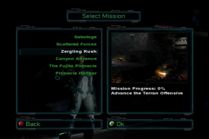 《星际争霸:幽灵》Xbox可玩版泄露 诺娃魅力足