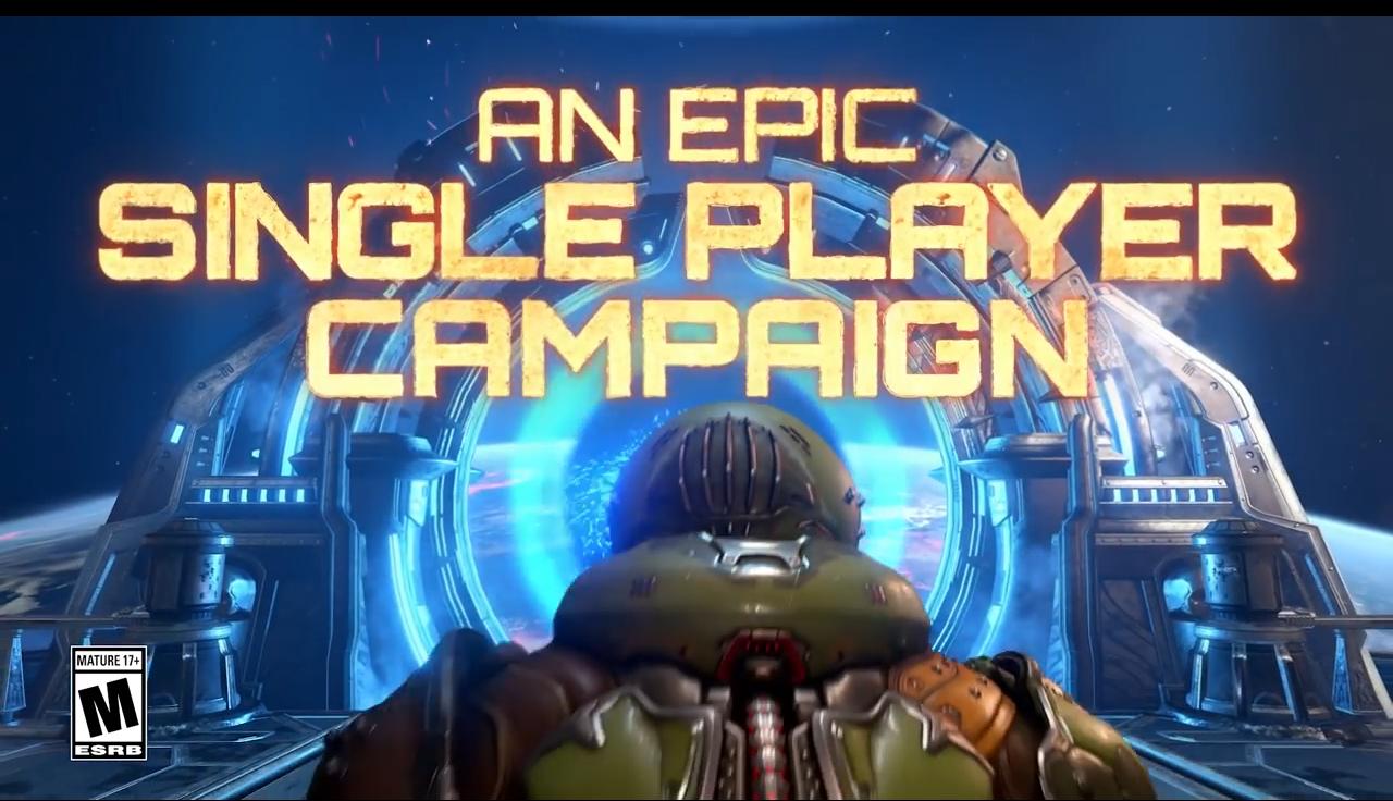 一览游戏玩法 B社《毁灭战士:永恒》介绍预告片