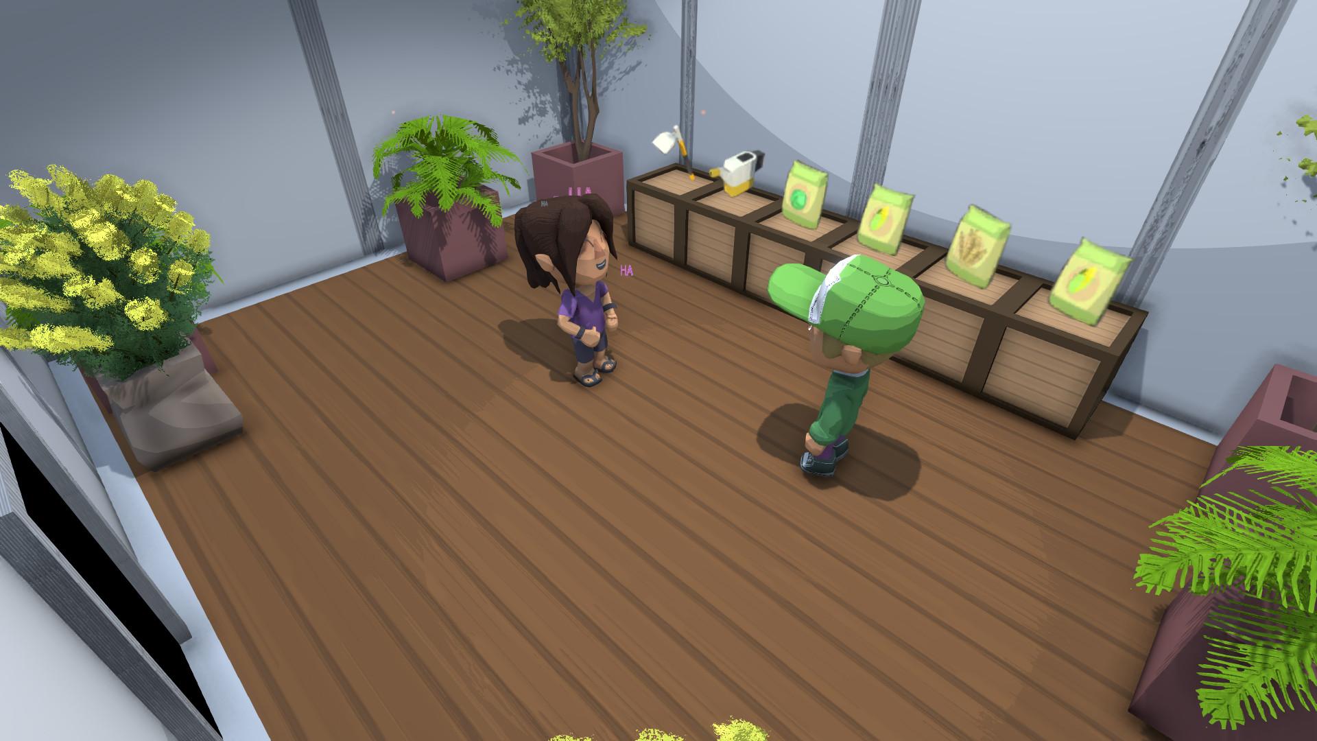 一款沙盒式种田新游上架Steam:热带家园养成!